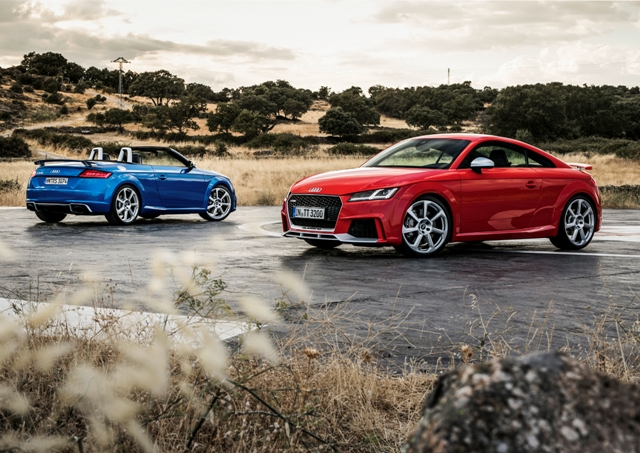 Audi TT RS Coupé und TT RS Roadster