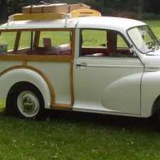 Lokaal product: Morris Minor Traveller
